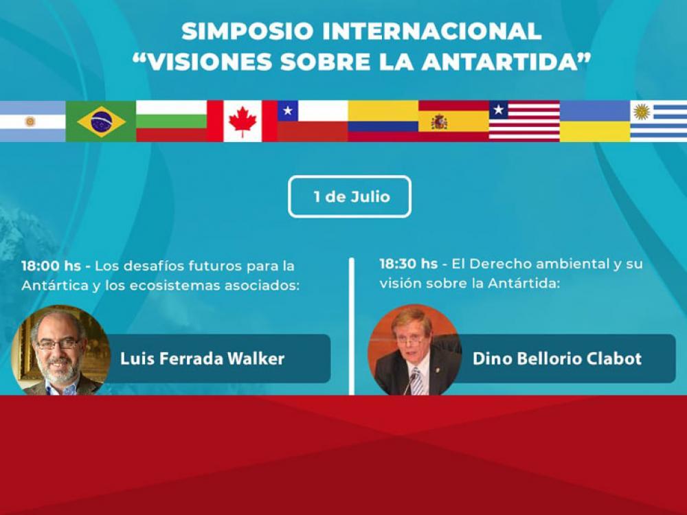 """Simposio Internacional """"Visiones sobre la Antartida"""""""