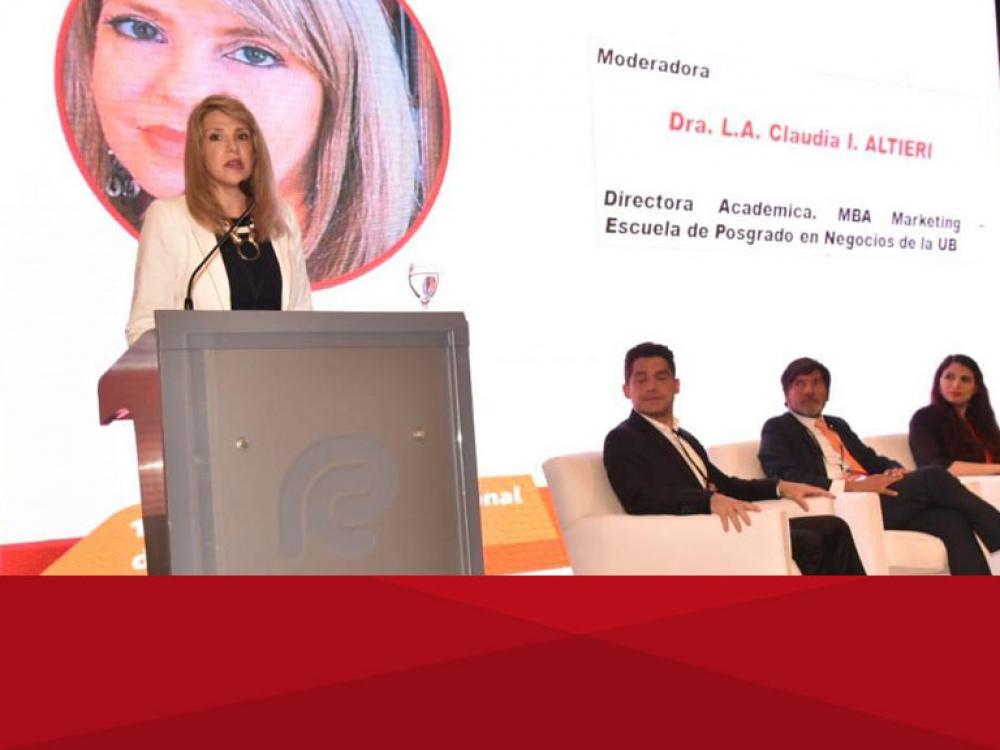 Directivo de la UB designada como miembro del Comité de Nominaciones del CENADMIN